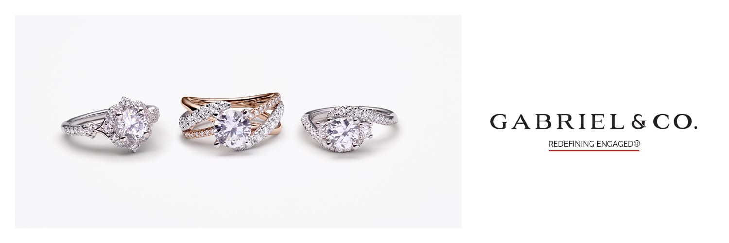 Crocker's Jewelers Gabriel & Co. Bridal