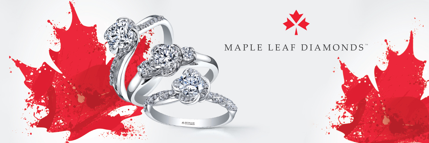 Richardson's Jewellery - Camrose Maple Leaf Diamonds