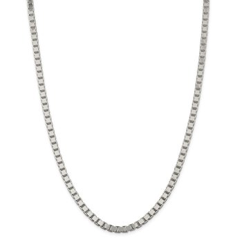 Sterling Silver 4.5mm Box Chain
