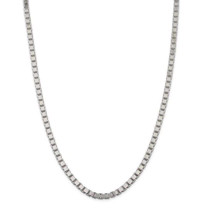 Quality Gold Sterling Silver 4.5mm Box Chain