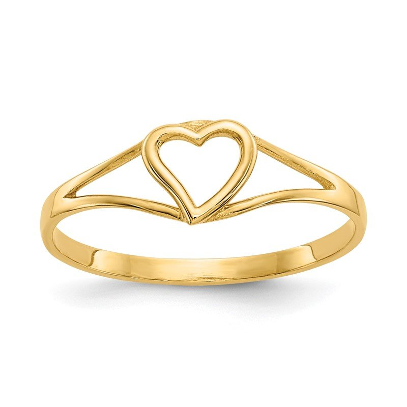 Quality Gold 14k Madi K Heart Baby Ring