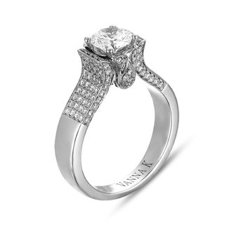 Vanna K Women's Engagement Ring - 18RGL039DCZ