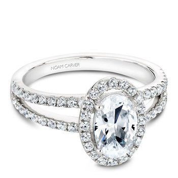 Noam Carver Fancy Engagement Ring B092-02A