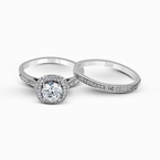 Simon G MR2395 WEDDING SET