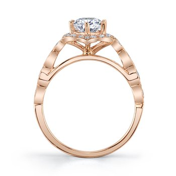 MARS 27069 Engagement Ring 0.23 Ctw