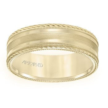 ArtCarved Men's Wedding Band