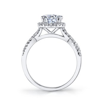 MARS 25156 Diamond Engagement Ring 0.43 ct tw