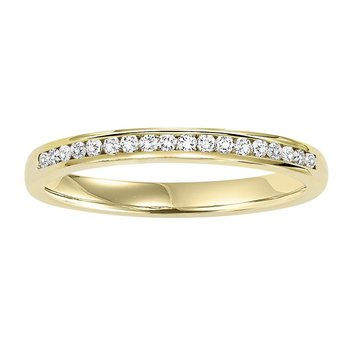 14K Diamond Matching Band 1/7 ctw