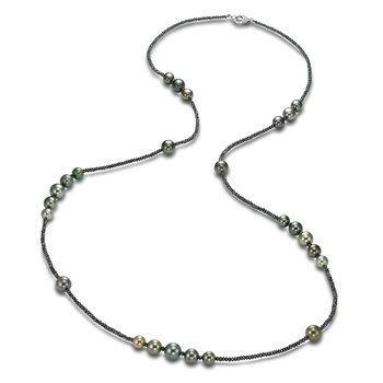 Ice Tahitian Pearl Dana Necklace