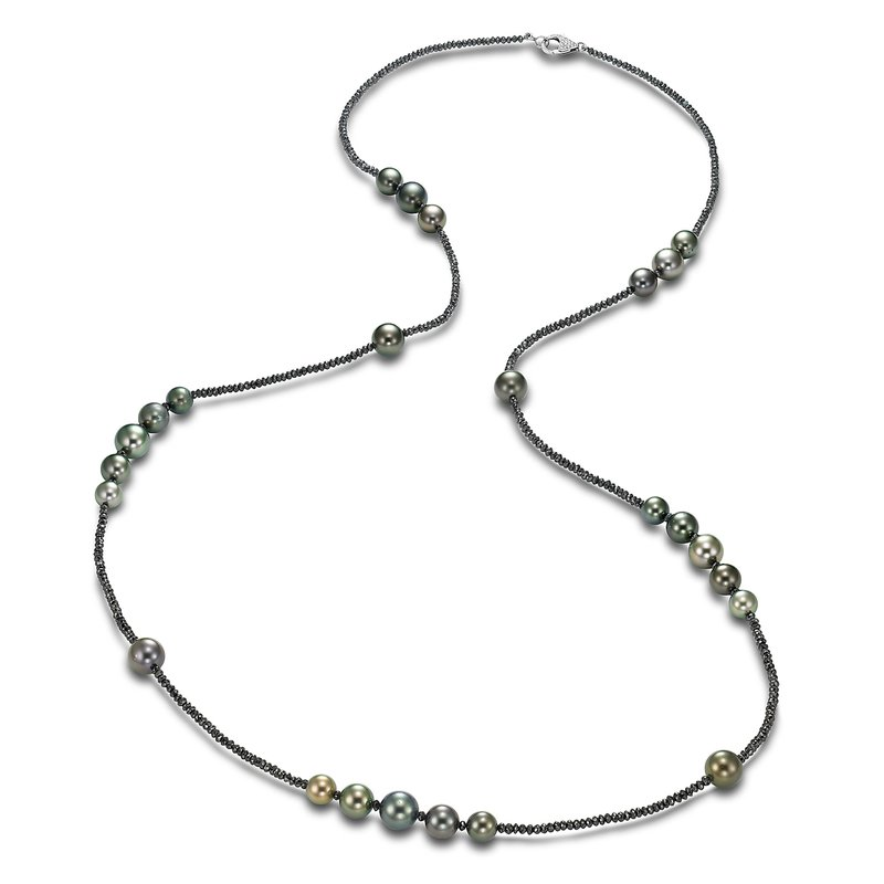 Mastoloni Pearls Ice Tahitian Pearl Dana Necklace