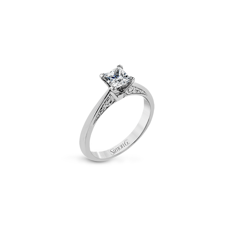 Simon G LR1198 ENGAGEMENT RING