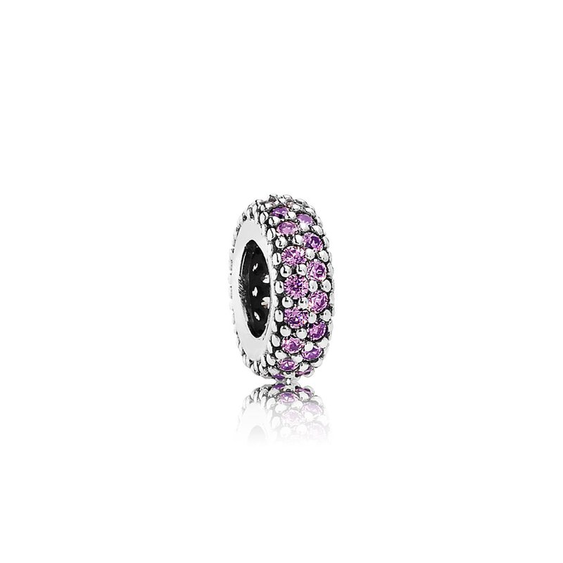 PANDORA Inspiration Within Spacer, Purple CZ
