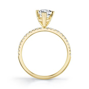MARS 26297-PE Engagement Ring, 0.15 Ctw.