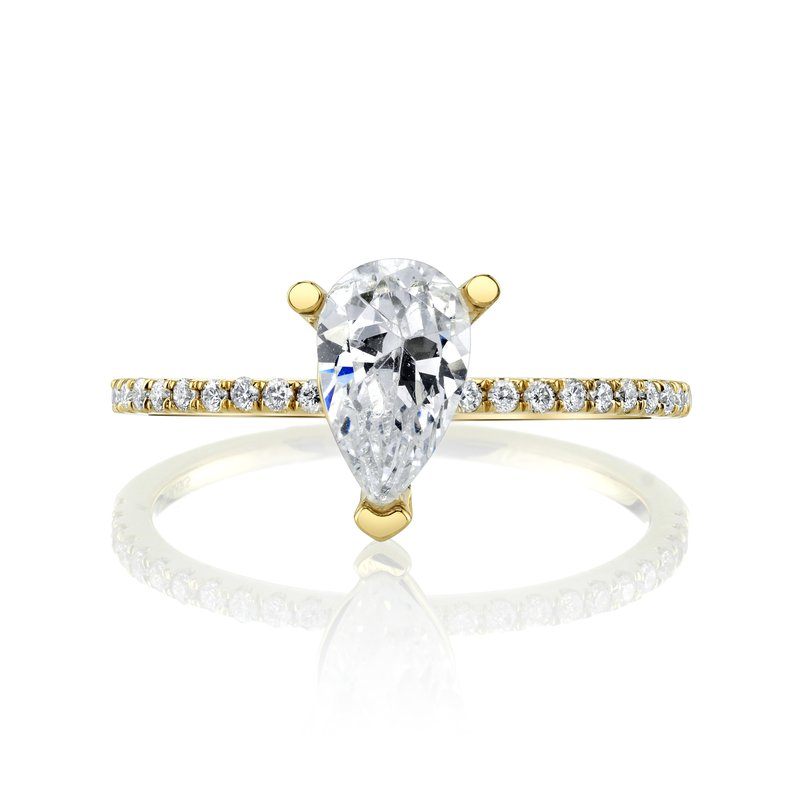 MARS Jewelry MARS 26297-PE Engagement Ring, 0.15 Ctw.