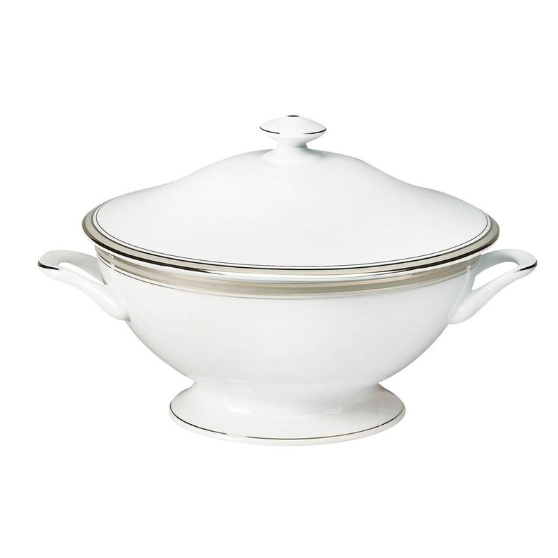 Deshoulieres Footed Soup Tureen With Lid