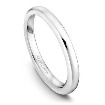 Noam Carver Wedding Band B038-04B