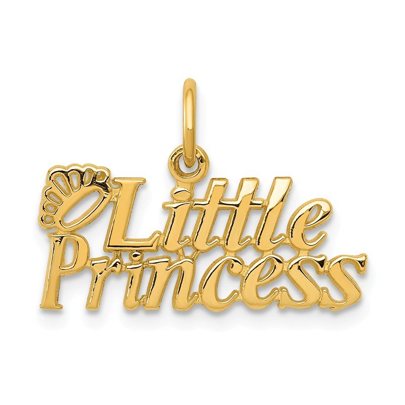 Quality Gold 14k Little Princess Charm