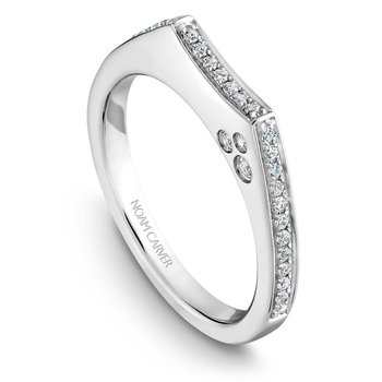 Noam Carver Wedding Band B016-02B