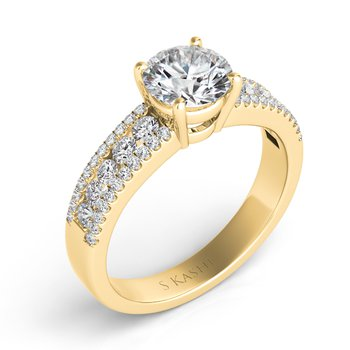 Yellow Gold Engagement Ring