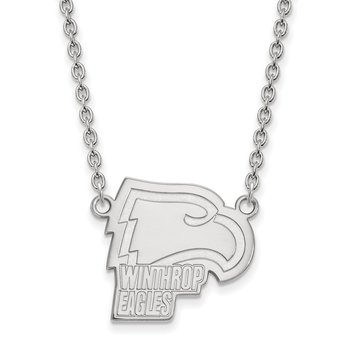 Gold Winthrop University NCAA Necklace