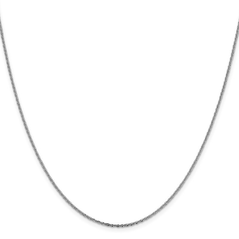 Leslie's Leslie's 14K White Gold 1.5mm Cyclone Chain