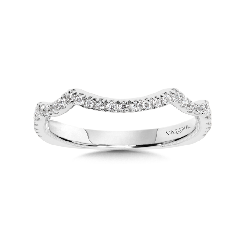 Valina Diamond and 14K White Gold Wedding Ring (0.23 ct. tw.)