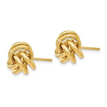 Leslie's 14K Polished Post Earrings