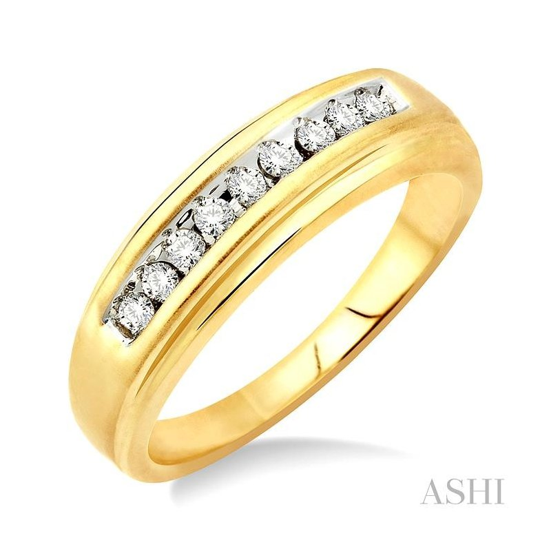 ASHI ladies duo diamond ring