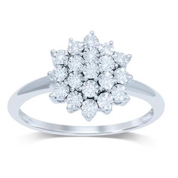 14K 0.10Ct Diamond  Ring