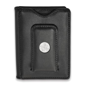 Sterling Silver University of Miami NCAA Wallet