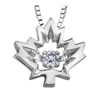 Northern DancerDiamond Solitaire Pendant