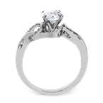 Zeghani ZR1201 ENGAGEMENT RING