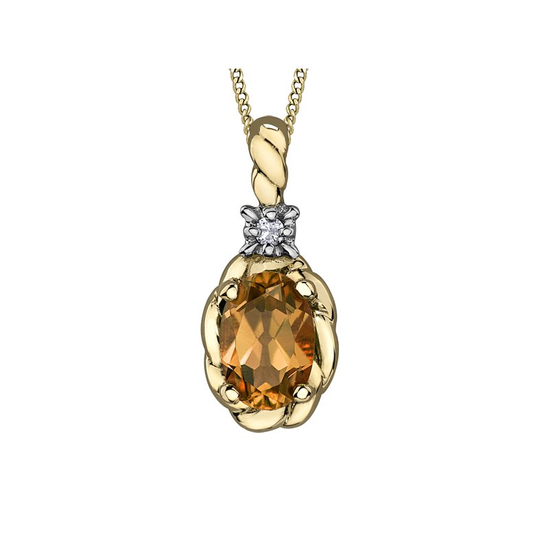 D of D Signature Citrine Pendant