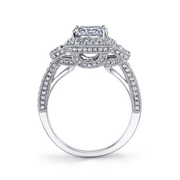 MARS 25229 Diamond Engagement Ring 0.76 ct rd 0.51 ct trp