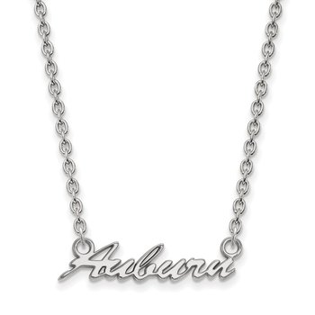 Sterling Silver Auburn University NCAA Necklace