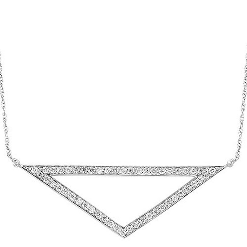 Mixables Silver Diamond Pendant 1/2 ctw