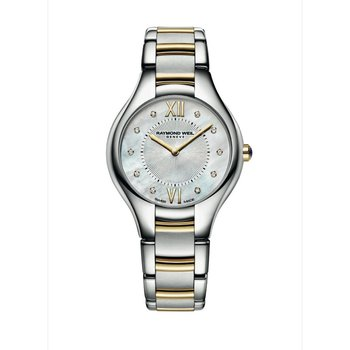 Ladies Quartz Watch, 32 mm Two-tone 10 diamonds