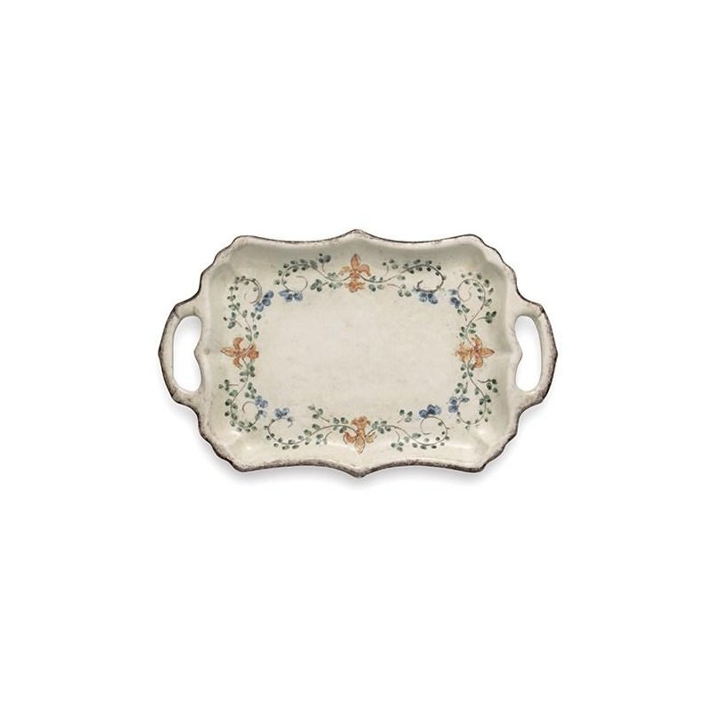 Arte Italica Rectangular Tray with Handles