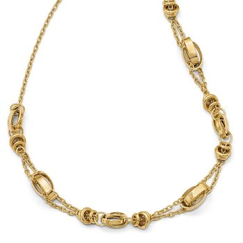Leslie's 14k w/1in ext. Necklace