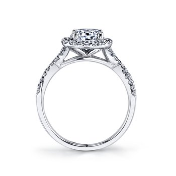 25367 Diamond Engagement Ring 0.46 ct tw