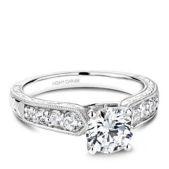 Noam Carver Vintage Engagement Ring B174-01A
