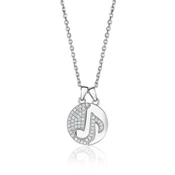 Two Piece Music Note Pendant