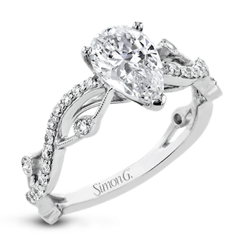 LR2207-PR ENGAGEMENT RING