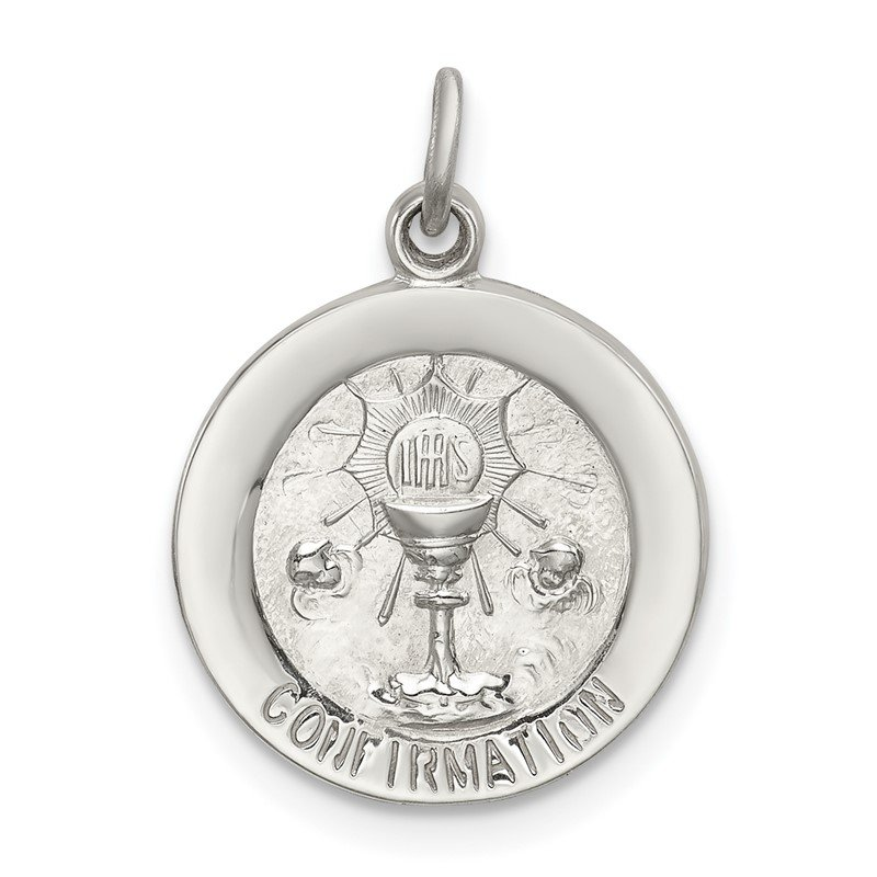 Quality Gold Sterling Silver Confirmation Medal