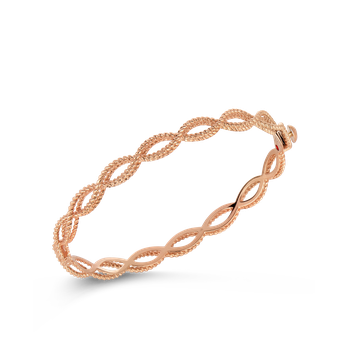 1 Row Bangle &Ndash; 18K Rose Gold