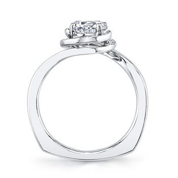 MARS 25958 Diamond Engagement Ring, 0.15 Ctw.