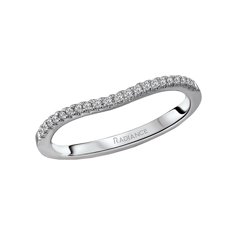 Radiance Curved Wedding Band
