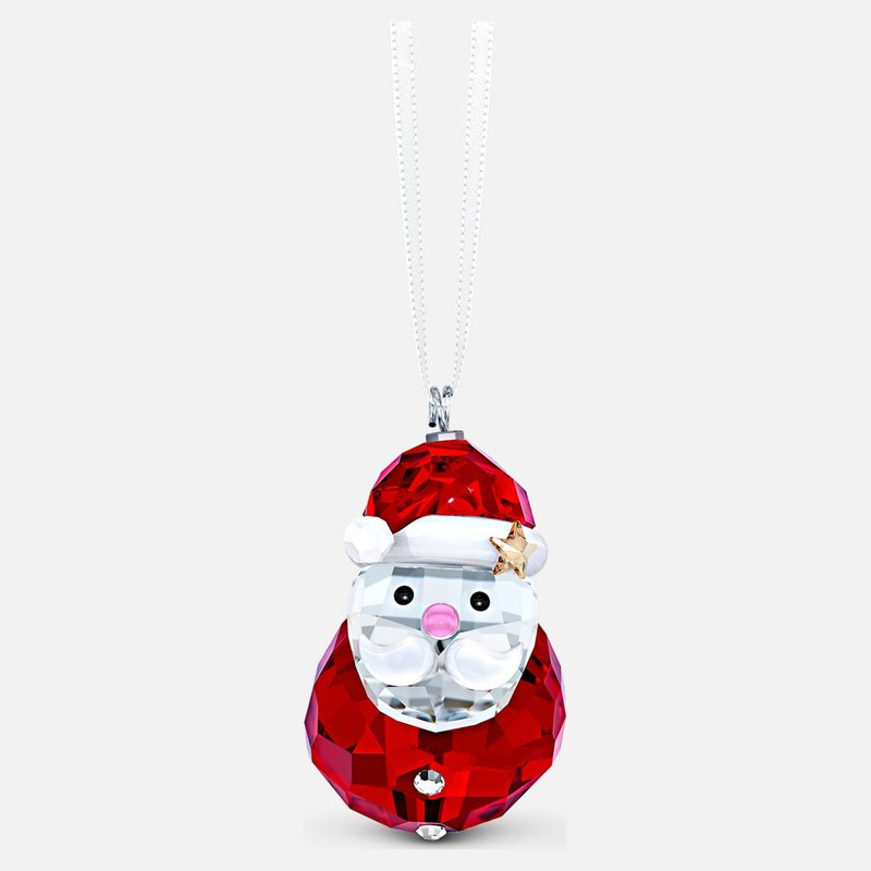 Swarovski Rocking Santa Claus Ornament