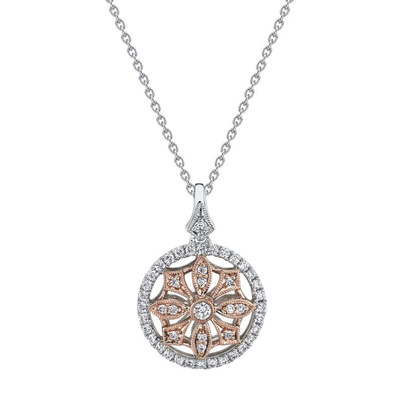 MARS Jewelry MARS 26863 Fashion Necklace, 0.37 Ctw.