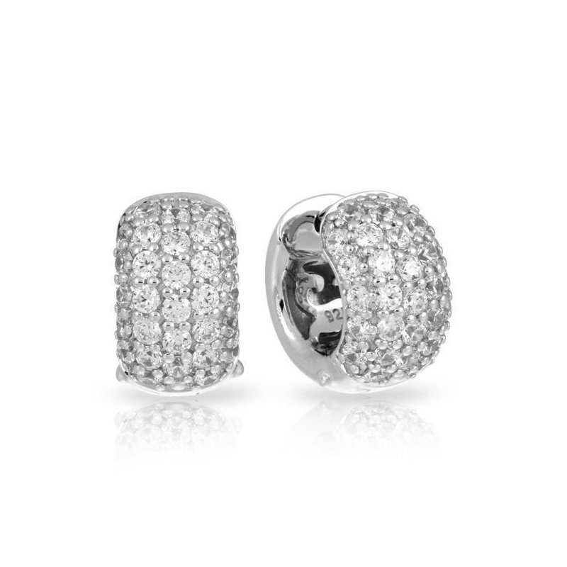Belle Etoile Pave Large Earrings
